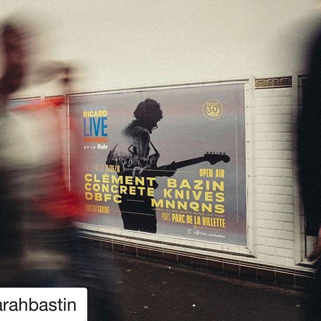 Miromesnil? Miromesnil. Dans le métro pour @le_fair @societe_ricard_live_music fête de la musique 🎵 ! Merci @sarahbastin pour le clicheeey sous boueeey. Demain on file en Suisse 🇨🇭 ça sent la toy story passionnante, la route l'est, par essence. 😘😘