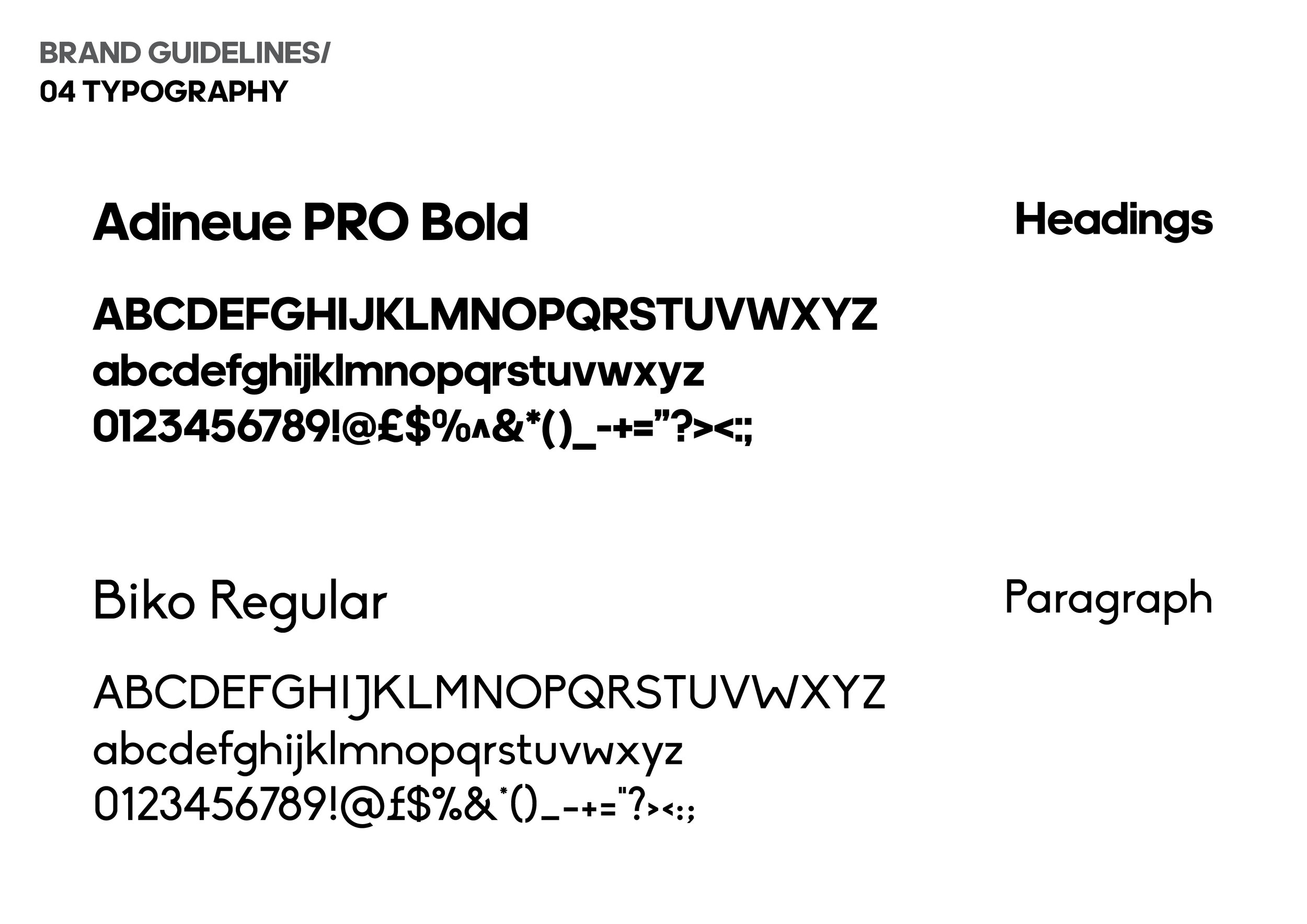 Adineue font