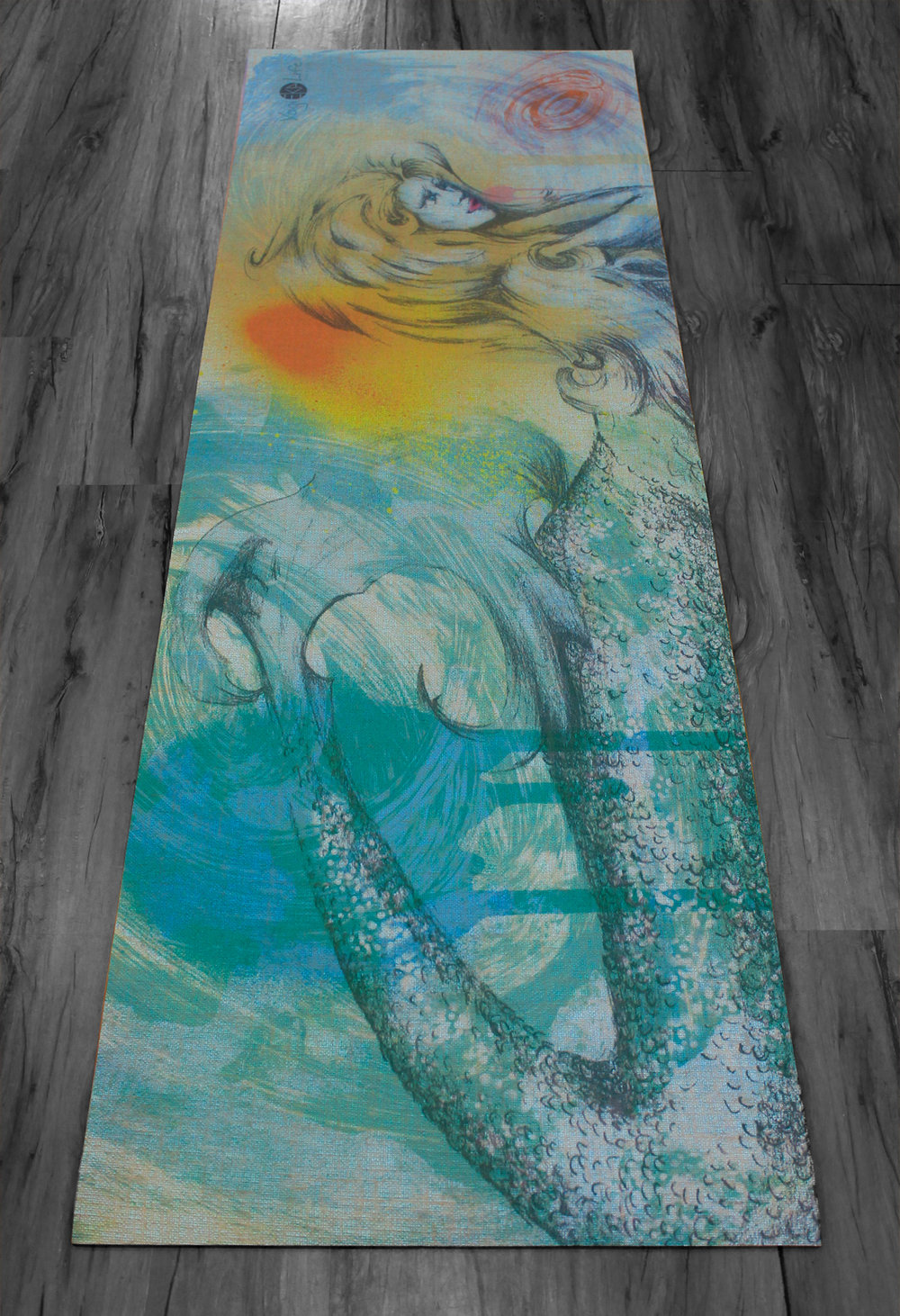 Salt & Fire Design on EkoYogi Mat Aqua