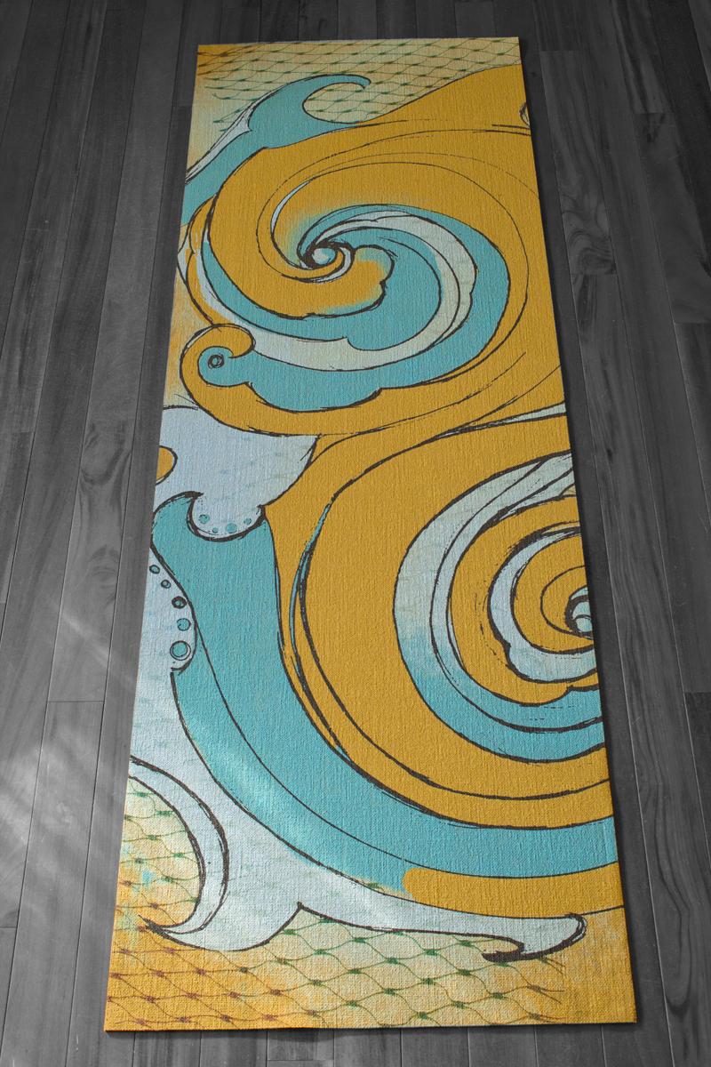 Wave EkoYogi Mat Aqua