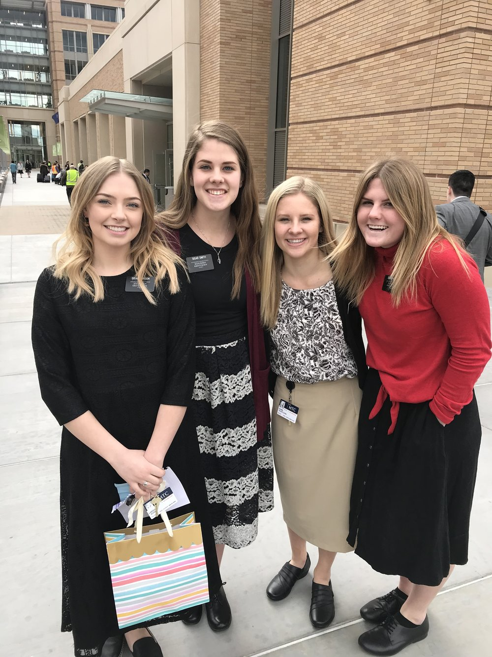 The Finnish Sisars in the Provo MTC.