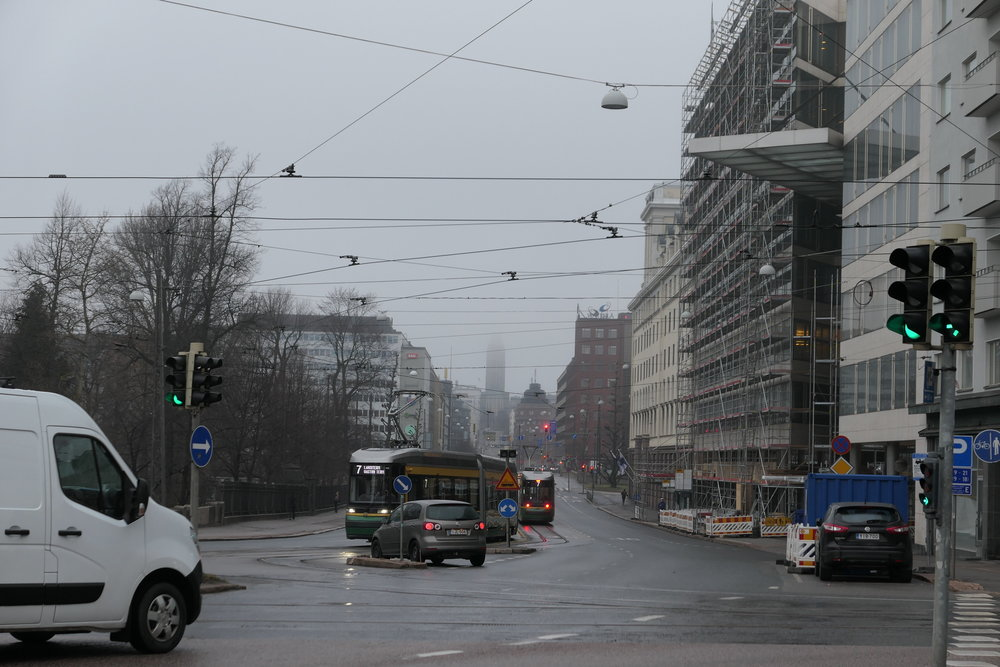 rainy finland