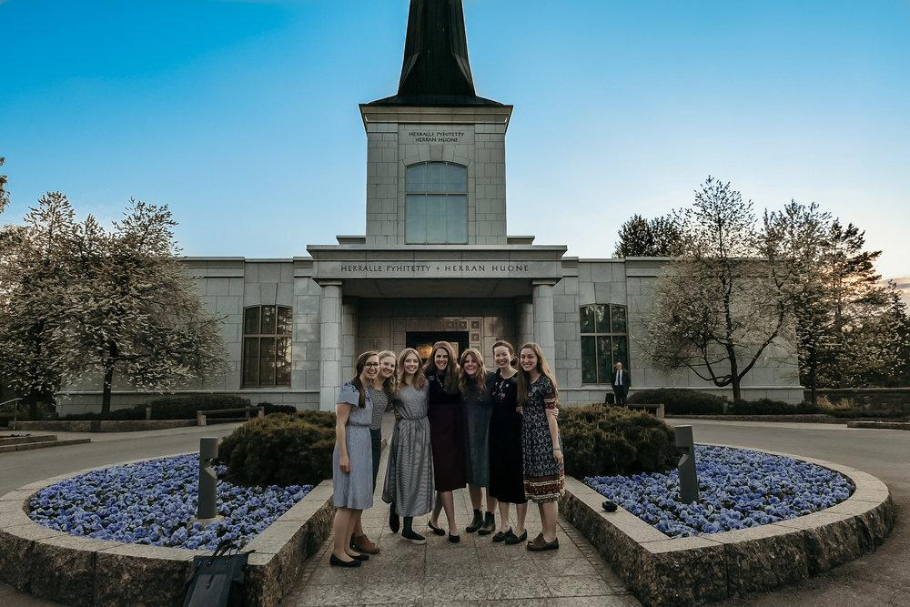 finland temple trip