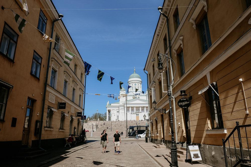 tuomio kirkko ( Helsinki Cathedral)