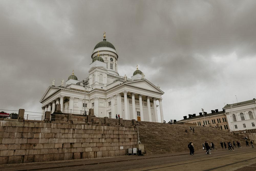tuomio kirkko (fav building in helsinki)