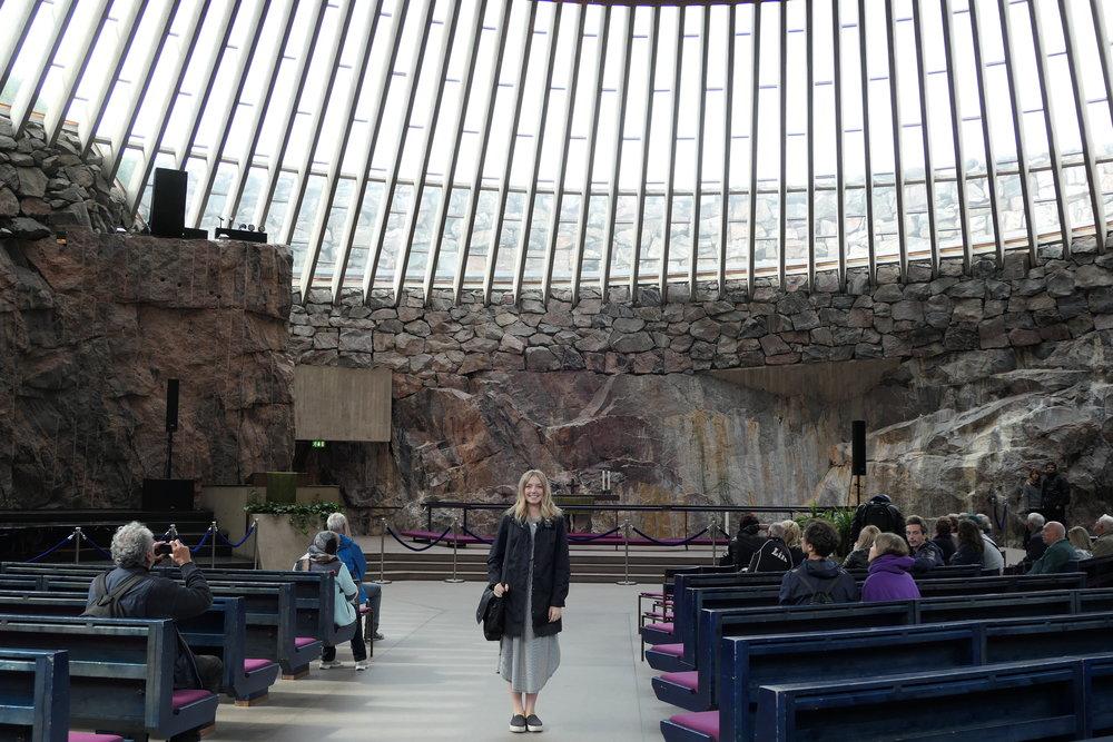 Inside Temppeliaukion