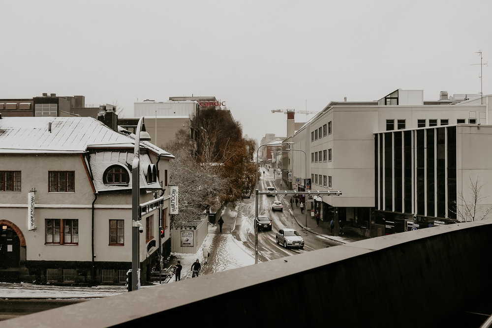snow in jyväskylä