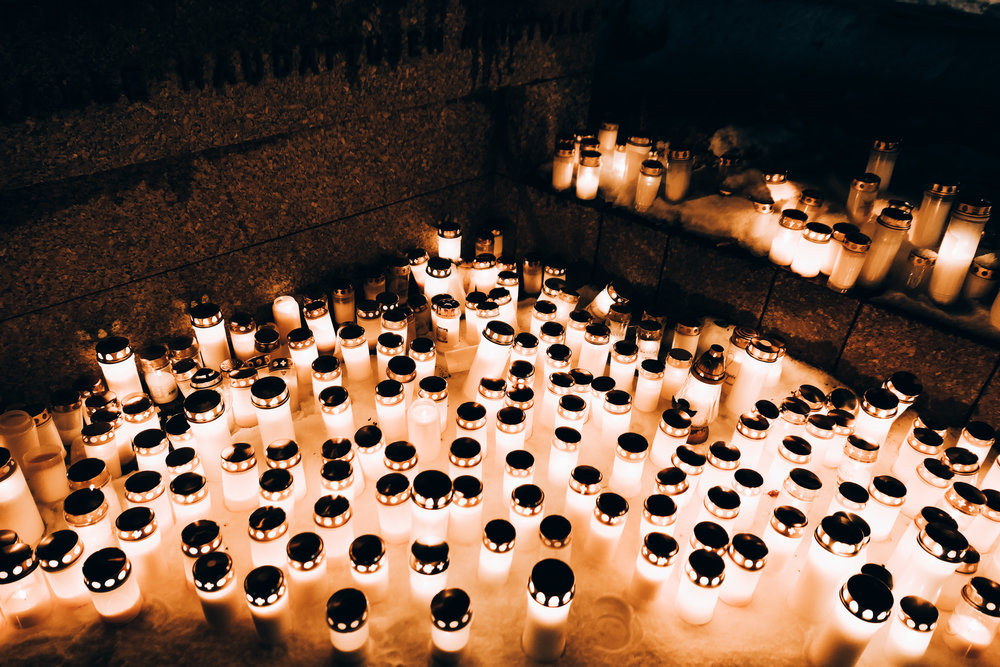 finnish Candle tradition on christmas eve
