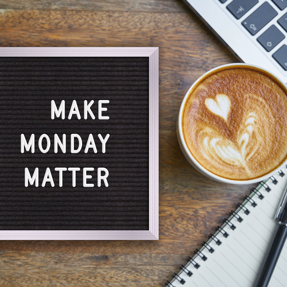 VIEW FULL INSTAGRAM POST HERE    #MondayMotivation Make Monday matter. Make your to-do list, clean up your inbox, set goals. How do you prepare on Monday to have a successful week? Let us know in the comments! • • •  #brittaniwillscreative   #smallbusiness  #socialmediatips