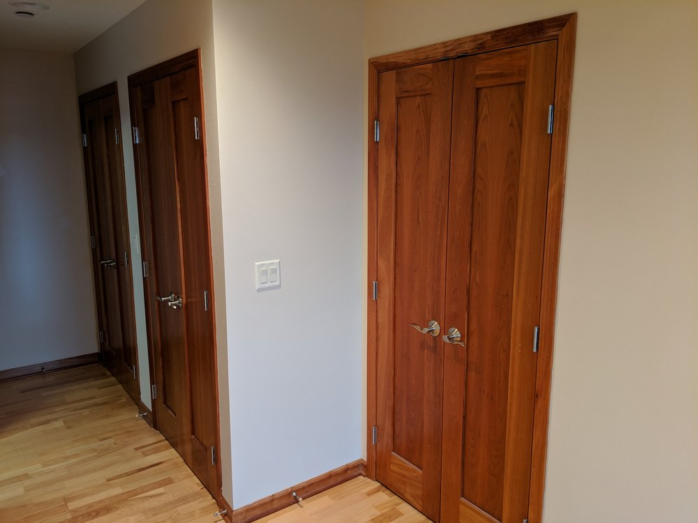 Lots of space - 3 closets in Master bedroom