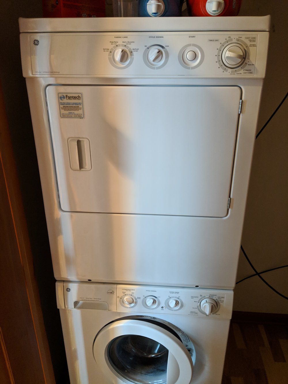 Washer and Dryer - included