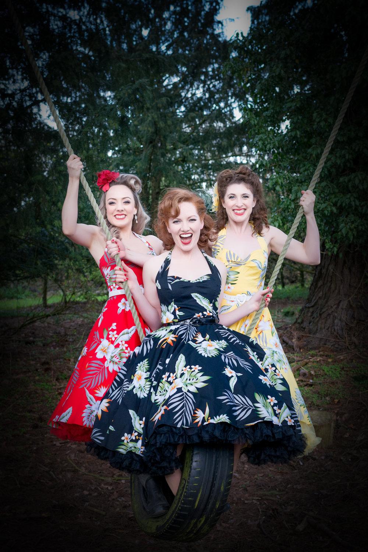 Sally, Kara and Ashleigh  Photo credit: Elizabeth Keates Photography