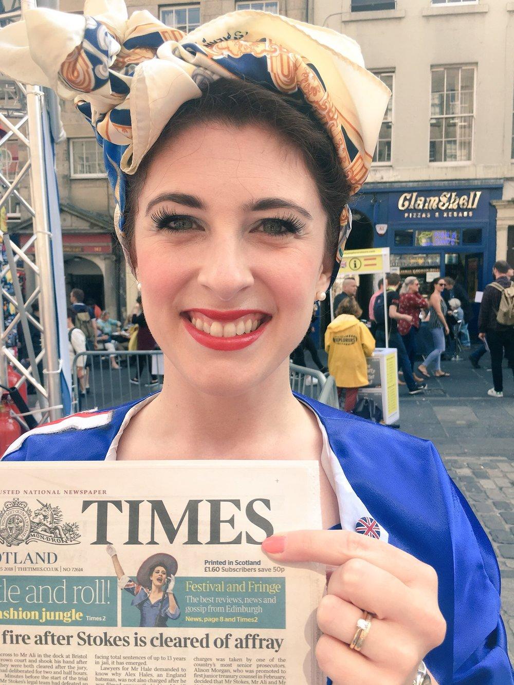 Ashleigh - The Times Newspaper  Photo credit: Nicholas Maude