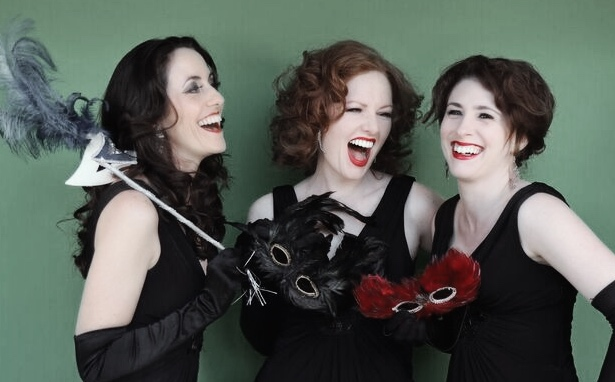 Simone, Kara and Ashleigh - New Years Eve  Photo Credit: Nicholas Maude