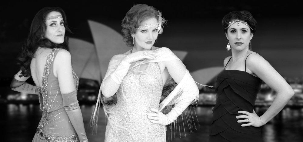Simone, Kara and Ashleigh - 1920 Sydney Opera House  Photo Credit: Nicholas Maude