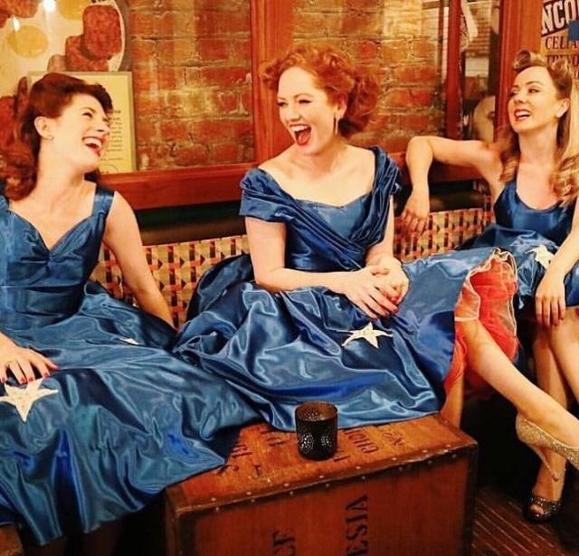 Ashleigh, Kara and Sally at Cahoots  Photo credit: Sally White Creative