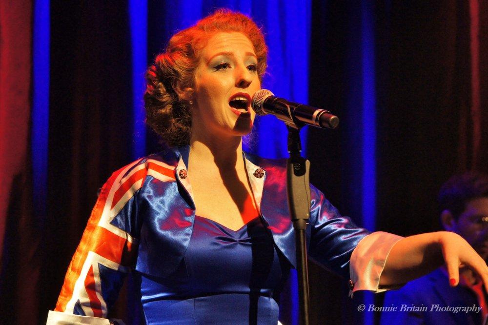 Natasha at Live at the Hippodrome  Photo credit: Bonnie Britain