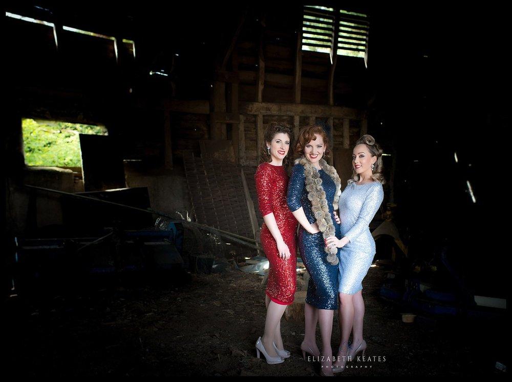 Ashleigh, Kara and Sally  Photo credit: Elizabeth Keates Photography