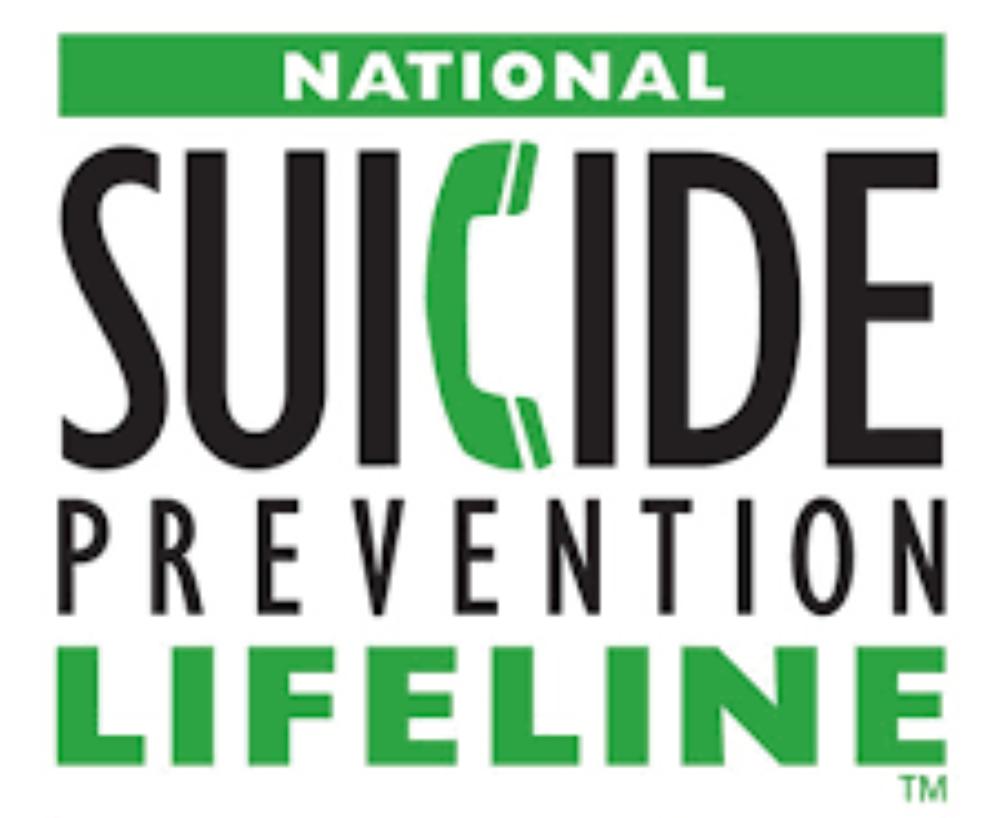 Suicide Lifeline - 1-800-273-8255