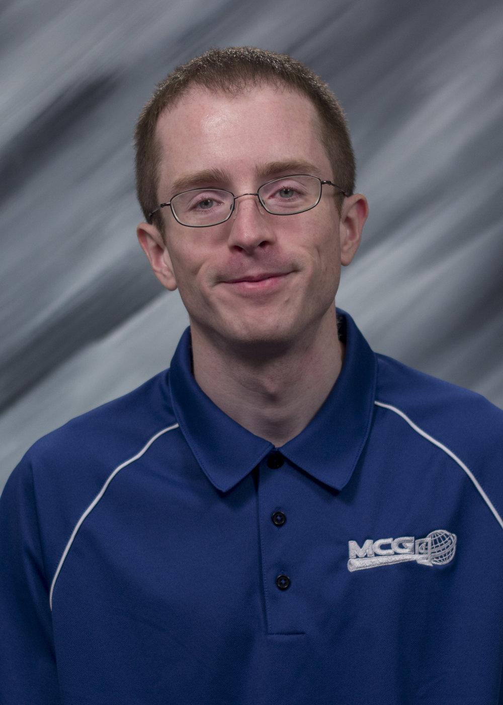 Jesse McDermid, Applications Analyst/Programmer