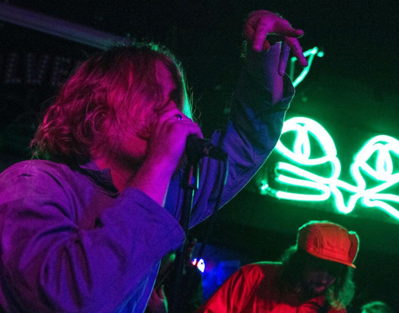 Ty Segall and the Muggers - Silverlake Lounge on Jan 5 2016 (Photo by Kelsee Becker)