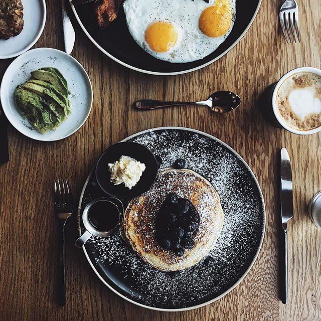 Wake up to THIS breakfast ya'll! ✌🏻 #scribnerslodge
