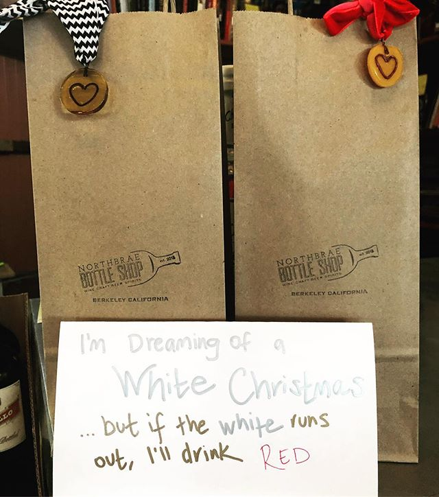 What's on your list? Who is on your list??? #winegifts #northberkeley