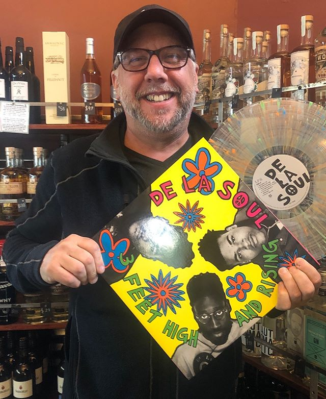 @vinylmeplease nails it again. I bought this record when it came out and had at least 3 copies of the cd over the years. Great surprise this morning!! #delasoul #northberkeley #vinylcollection #oldschoolhiphop