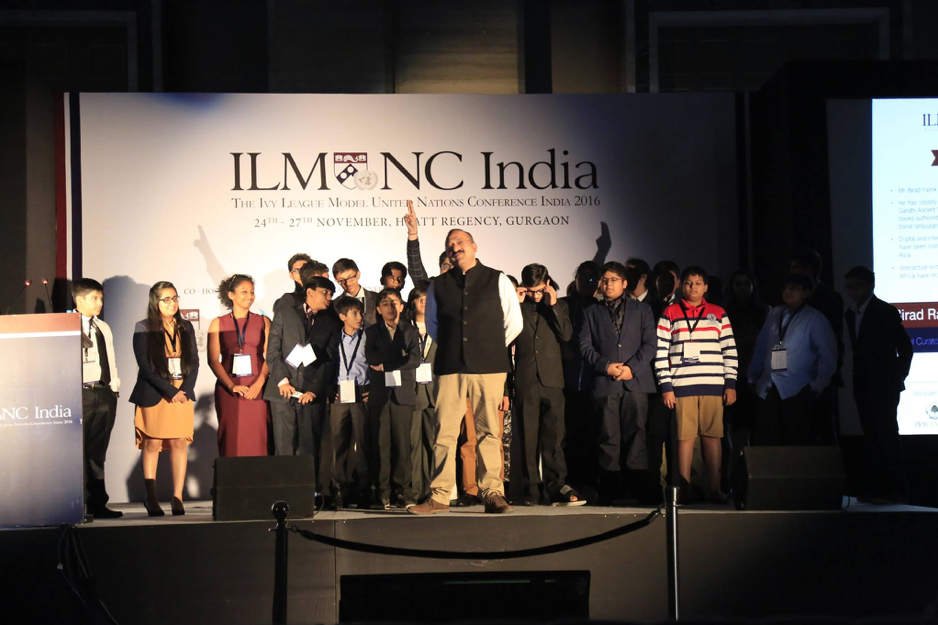 A Holistic Experience   We firmly believe that ILMUNC India is more than just a Model United Nations Conference. We seek to offer our delegates a holistic experience which will aid them monumentally in their future. Apart from committee sessions, ILMUNC India will have numerous career workshops discussing fields ranging from Nanotechnology to Business led by some of the brightest Penn Students and Alumni from schools such as the Wharton School of Business and the School of Engineering. Our chairs act as mentors to our delegates and often stay in contact with them for months after. We also seek to expose our delegates to the opportunities available to them in college through an extensive college fair with representation from both Indian and International colleges. Furthermore, ILMUNC India attracts some of the most knowledgeable professionals in various fields to deliver talks to our delegates. Finally, ILMUNC India also believes in providing a fun and exciting experience for our delegates through numerous social events such as Delegate Dances and Cultural Fairs. We believe in facilitating the highest quality of substantive debate, while enabling a wholesome and enriching experience for our delegates.