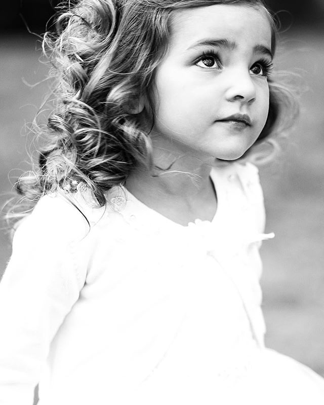 one of the shining stars of any wedding: the flower girl.