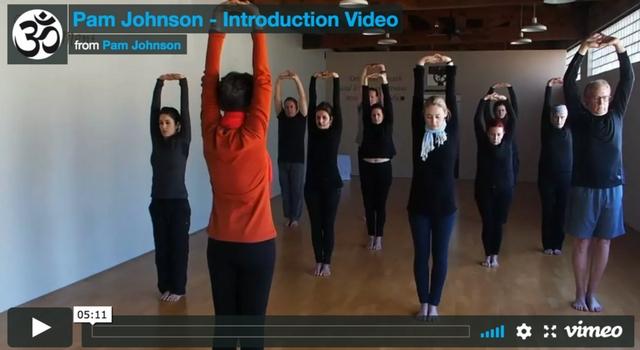 Pam Johnson Introduction Video — Pam Johnson Yoga