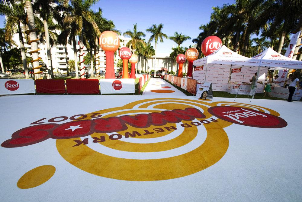 Branded Carpet for Food Network Awards 2007.jpg
