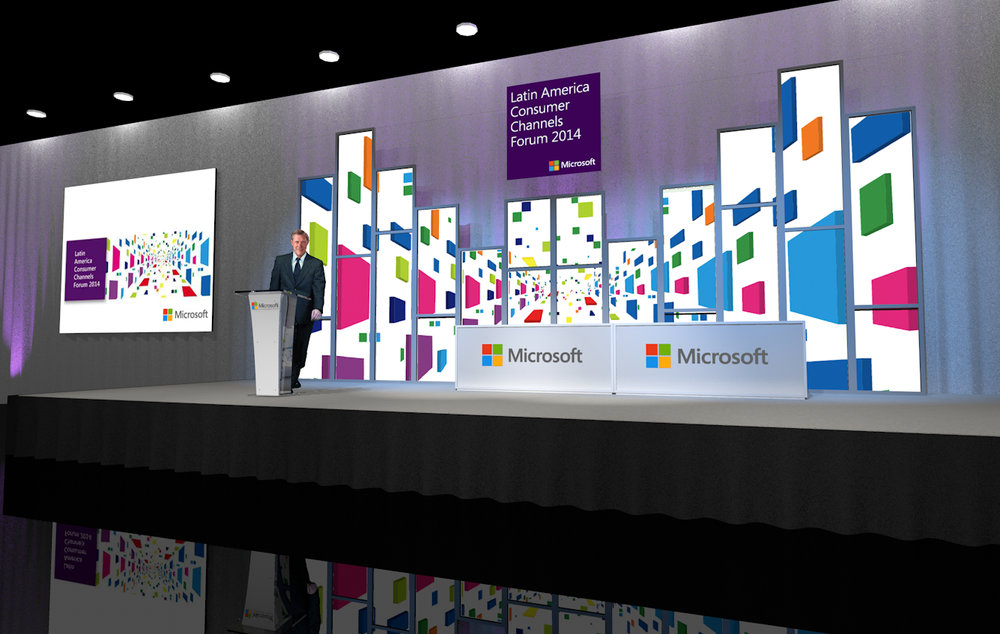 Microsoft Latin America Consumer Channels Forum 2014 staging_rendering.jpg