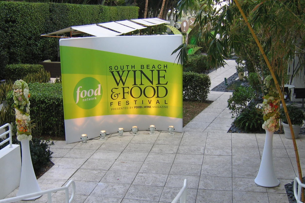 South Beach Wine and Food Festival Step and Repeat Wall.jpg