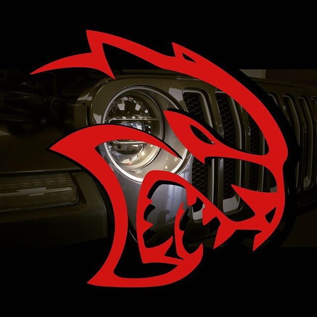 It's coming... #hellcatjl #wrangler #jeep #hellcat #because