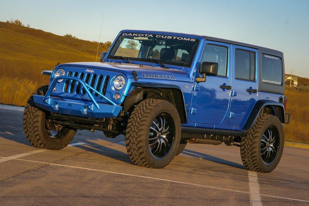 2015 Jeep Wrangler 7.0L Hemi Swap