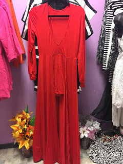 Red Romper  Shop at  Maggie's Boutique