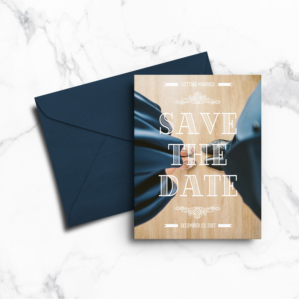 Save-The-Dates by Cleveland Invites