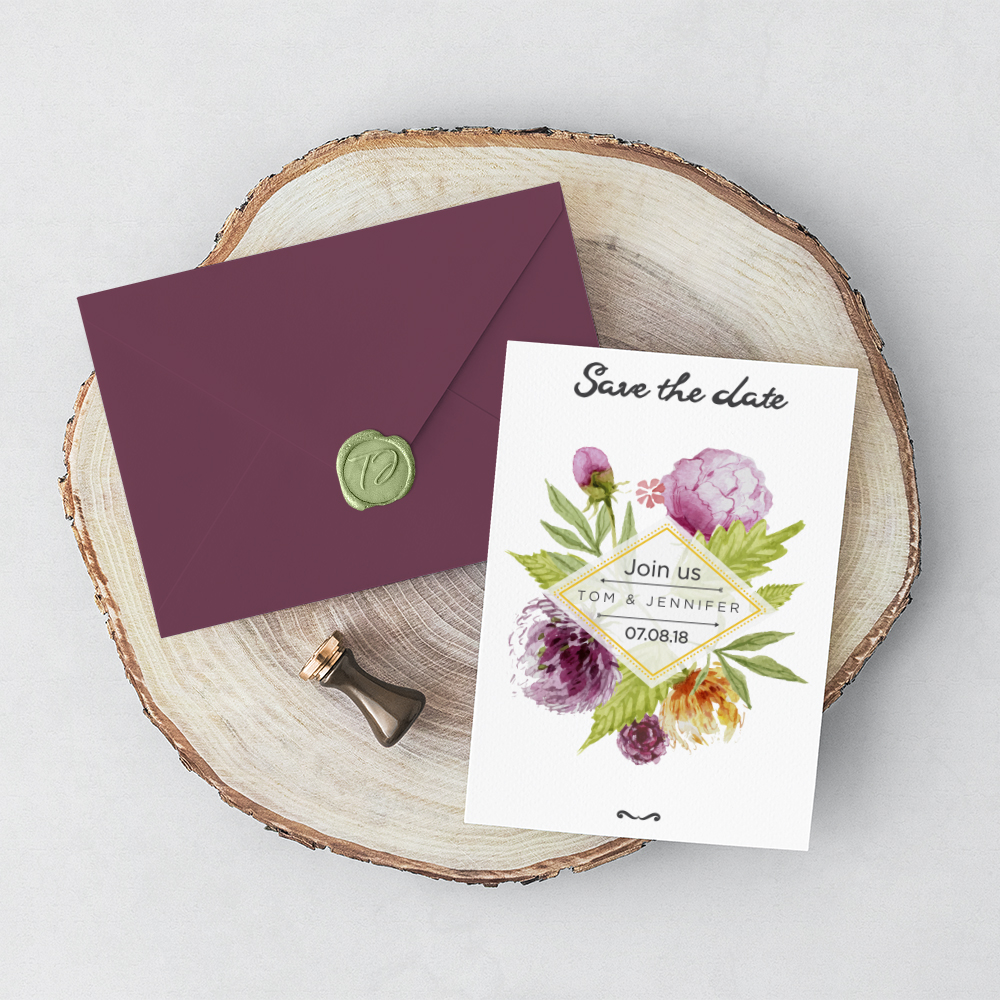 Wedding invitations by Cleveland Invites