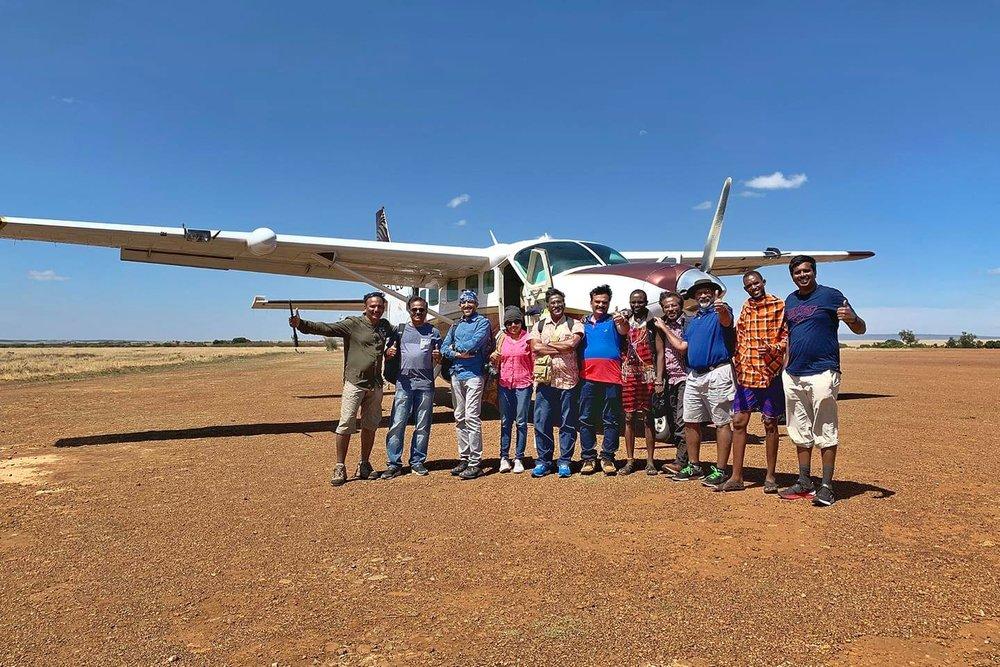 The Mara Strip we will land..