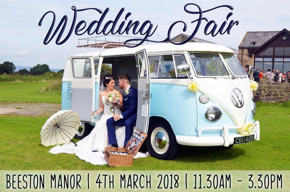 beeston-manor-wedding-fair-coach-house-limousines-vw-camper-van