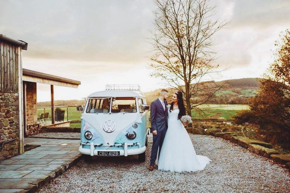 Classic Volkswagen camper vans