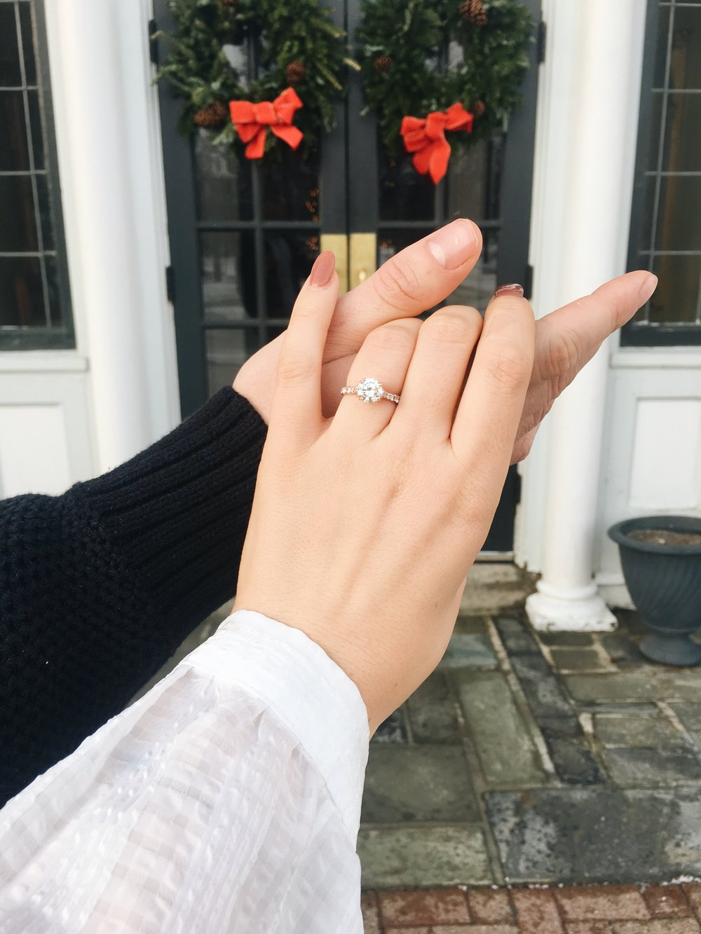 small town couture engagement