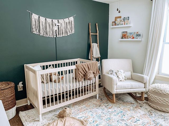 10 weeks to go ❤️ Baby h's room has quickly become my favorite room in the house. Shop your screenshot of this pic with the LIKEtoKNOW.it app http://liketk.it/2zYqU @liketoknow.it @liketoknow.it.family @liketoknow.it.home #liketkit #LTKhome #LTKbaby