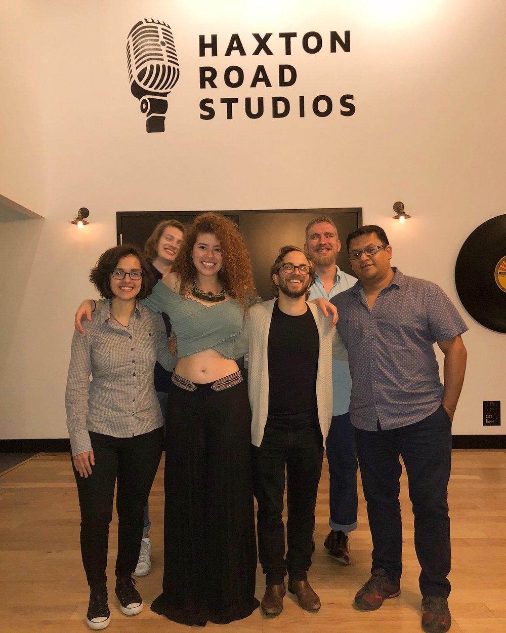 Flor Zuloaga, Jacob Skinner, Lesly Reynaga, Jake Hertzog, Ashton Perkins, Fernando Valencia