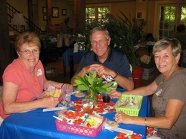 July picnic and plant exchange