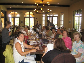 Eating again this time at Montaluce Winery