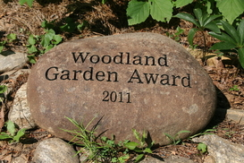 Larry Miller and Barbara Peters Winners of 2011 Woodland Garden Award