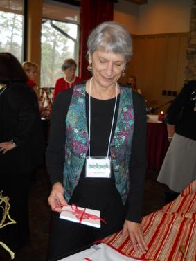 Jo Ann with custom cards