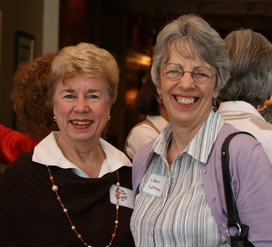 Jean and Rita @ Opening Luncheon